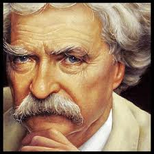 Legendary author Mark Twain